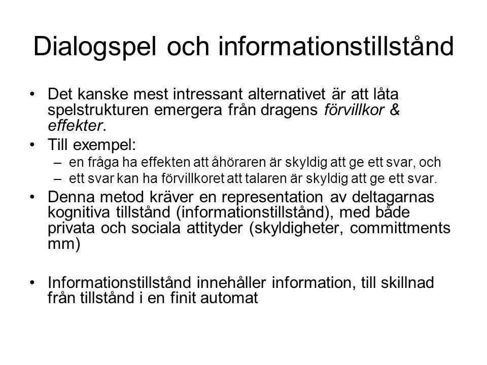 Dialogspel och informationstillstånd