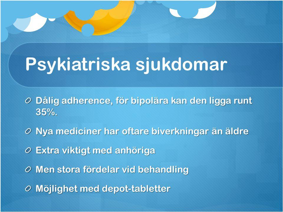 Psykiatriska sjukdomar