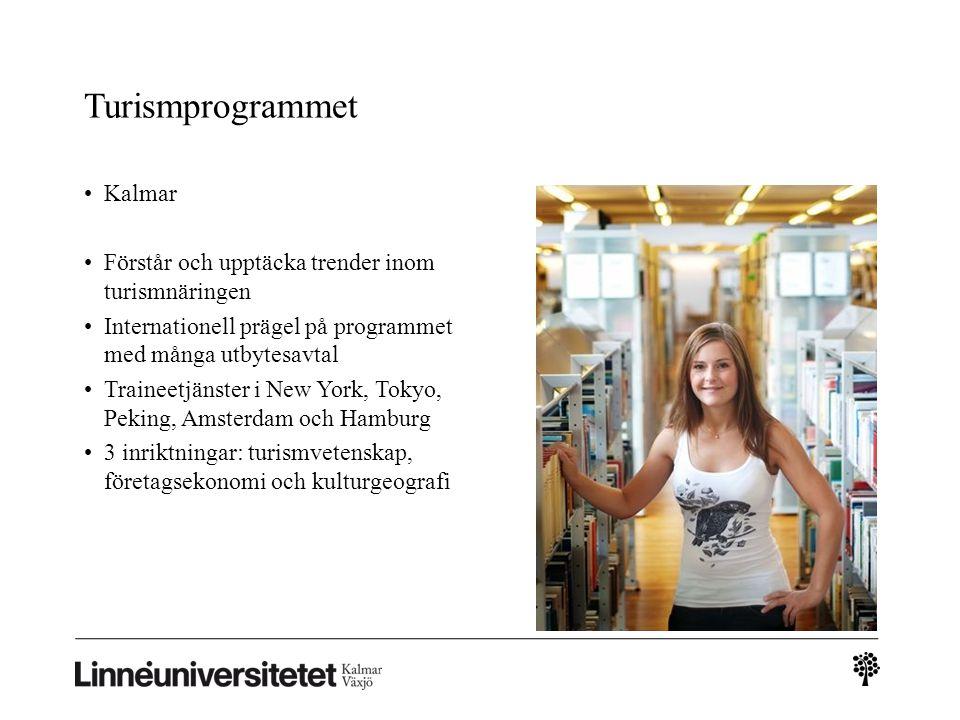 Turismprogrammet Kalmar