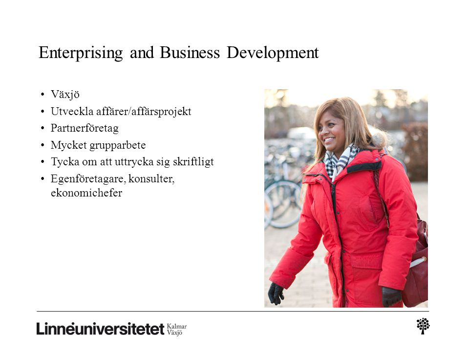 Enterprising and Business Development
