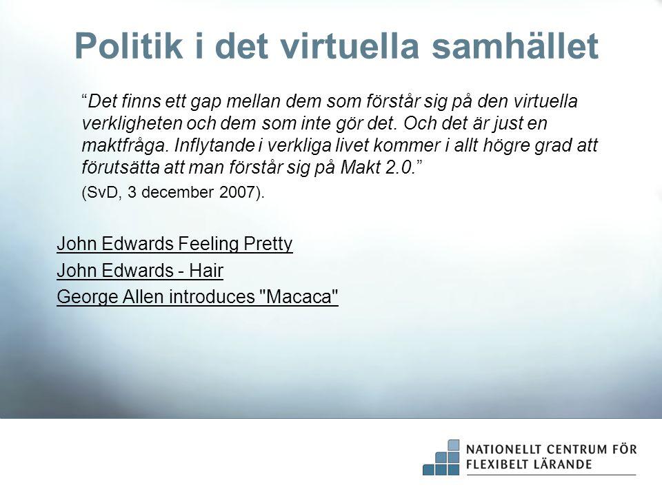 Politik i det virtuella samhället