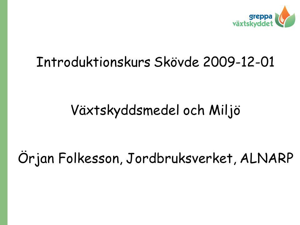 Introduktionskurs Skövde 2009-12-01