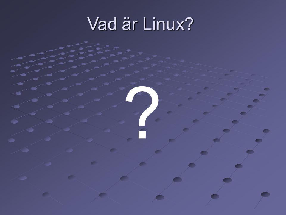 Vad är Linux 8