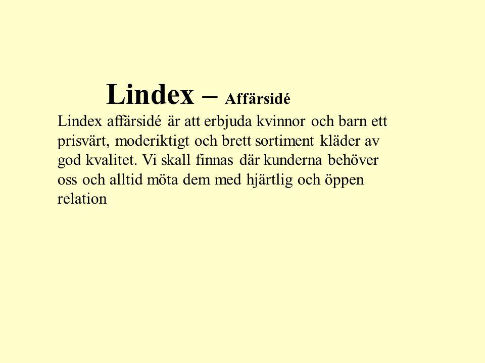 Lindex – Affärsidé