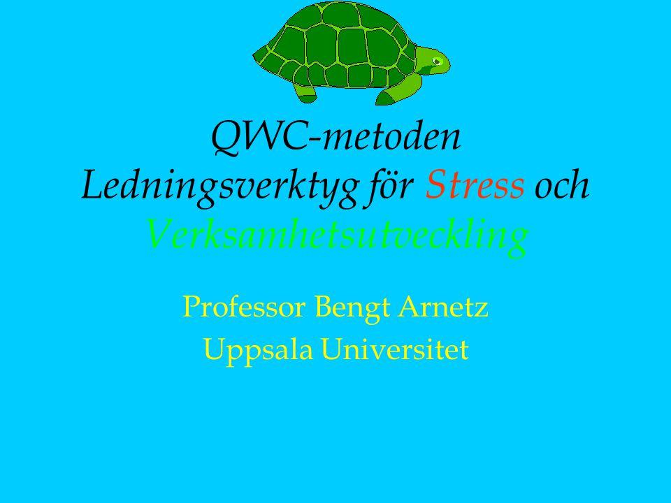 QWC-metoden Ledningsverktyg för Stress och Verksamhetsutveckling