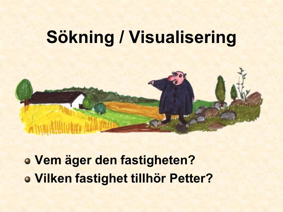 Sökning / Visualisering