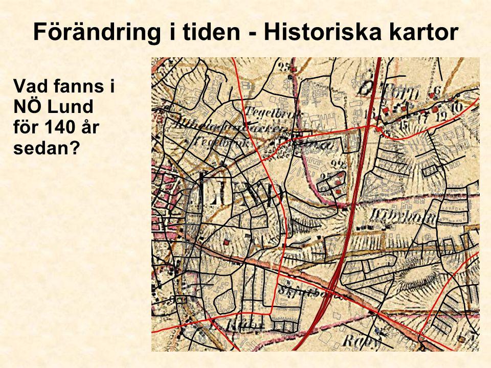 Förändring i tiden - Historiska kartor