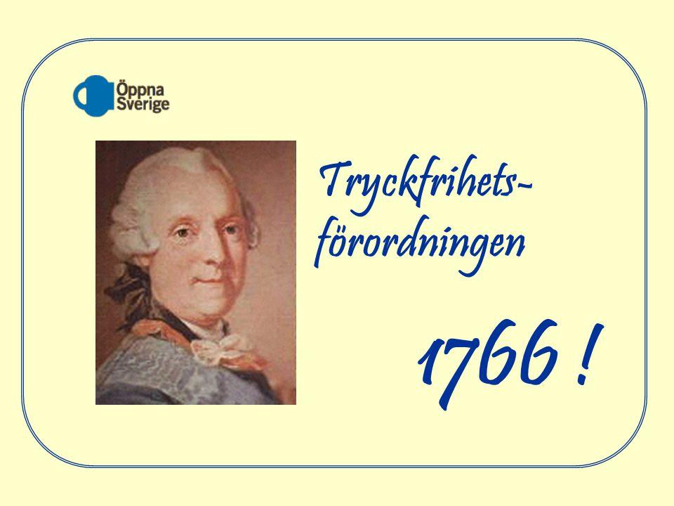 1766 ! Tryckfrihets- förordningen 2017-04-06