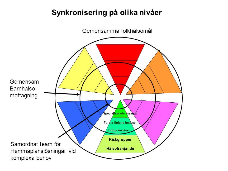 Synkronisering på olika nivåer