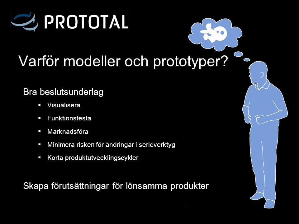 Varför modeller och prototyper