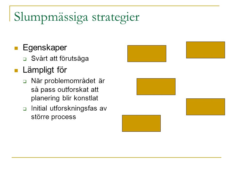 Slumpmässiga strategier