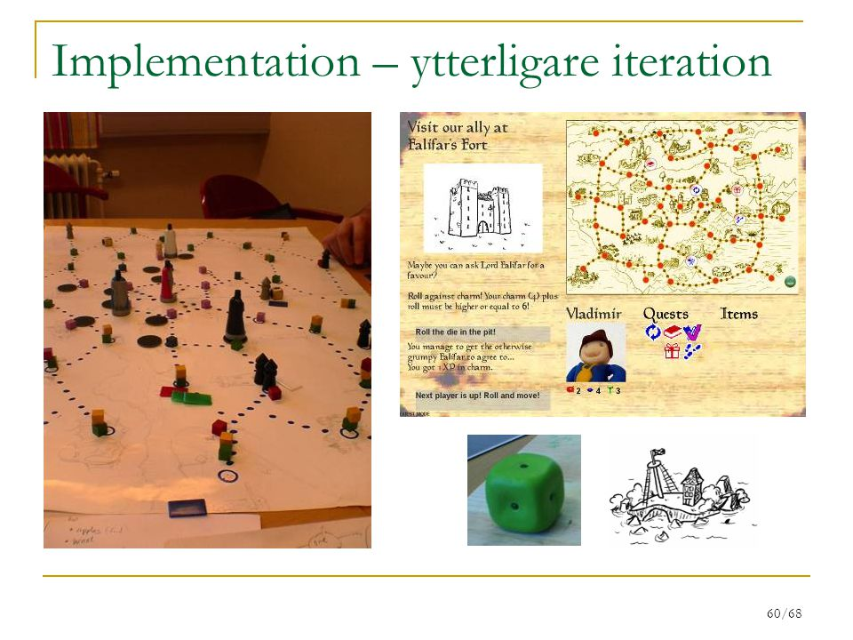 Implementation – ytterligare iteration