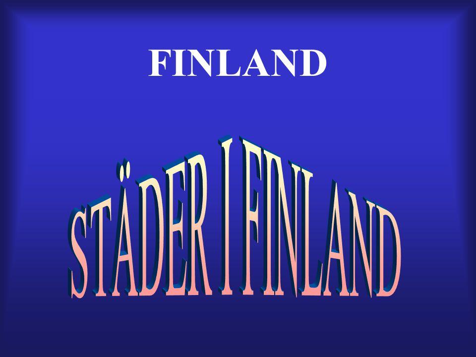 FINLAND STÄDER I FINLAND
