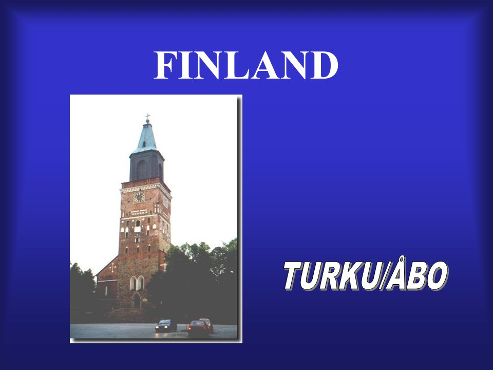 FINLAND TURKU/ÅBO