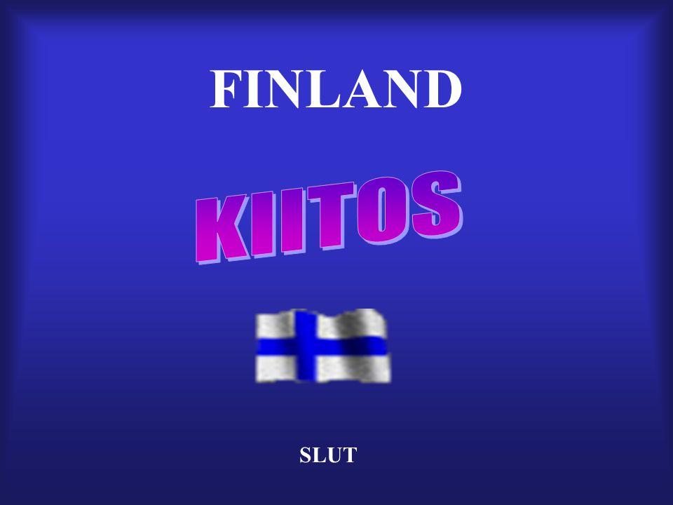 FINLAND KIITOS SLUT