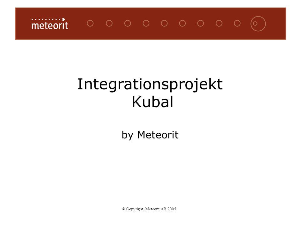 Integrationsprojekt Kubal by Meteorit