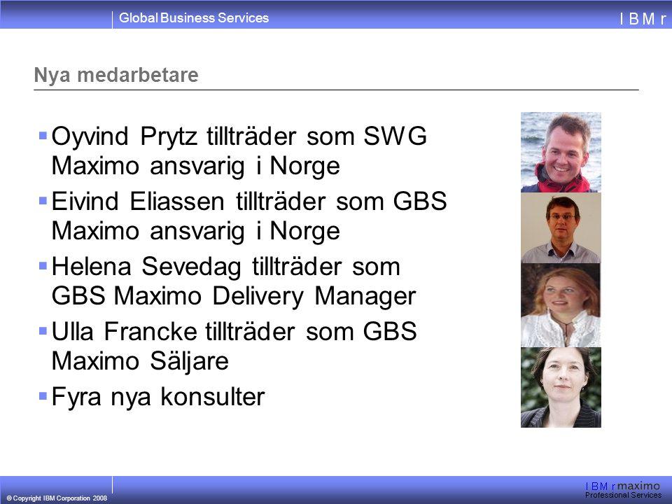 Oyvind Prytz tillträder som SWG Maximo ansvarig i Norge