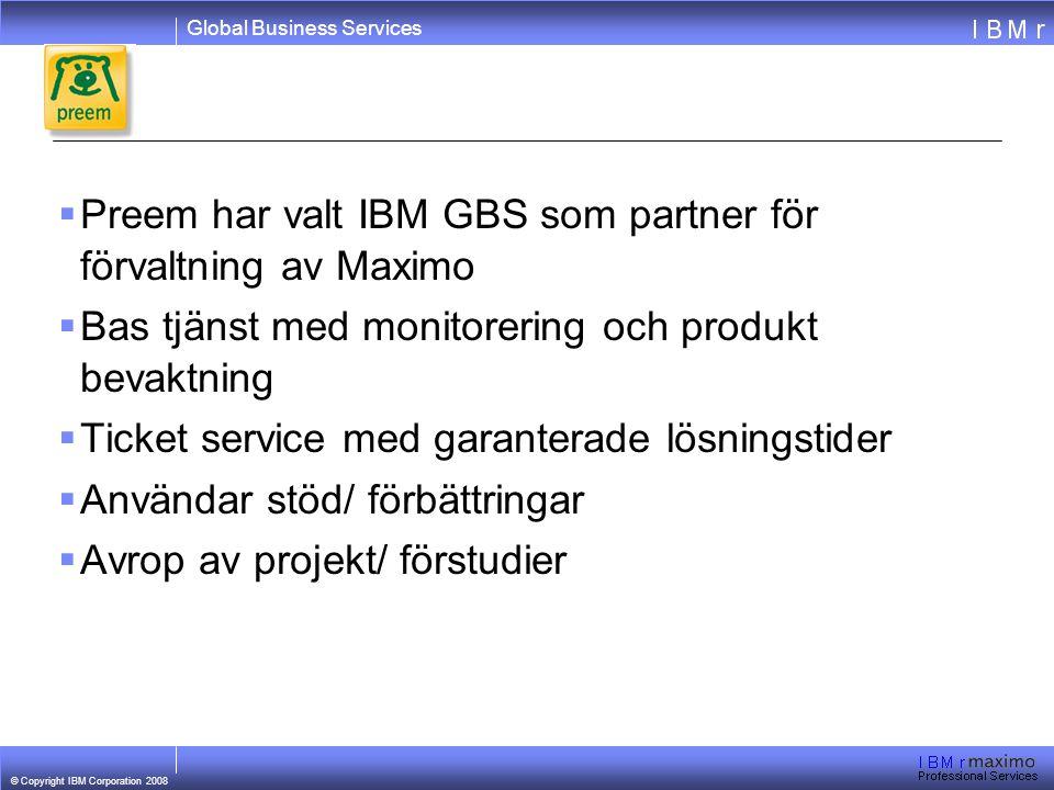 Preem har valt IBM GBS som partner för förvaltning av Maximo