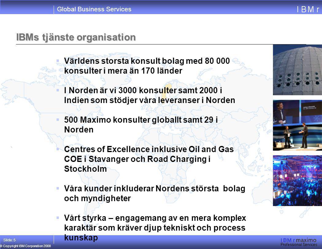 IBMs tjänste organisation