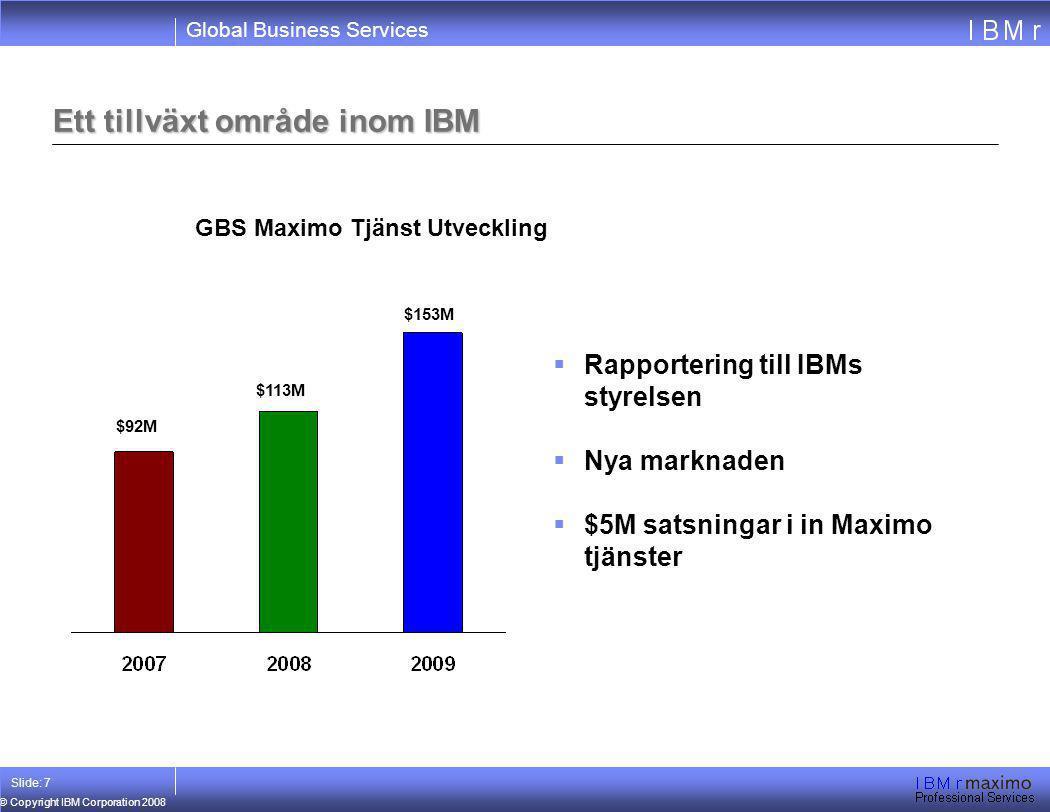 Ett tillväxt område inom IBM