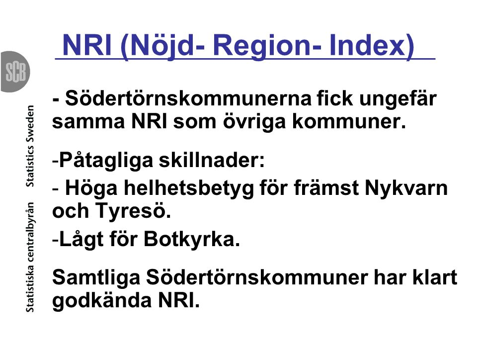 NRI (Nöjd- Region- Index)