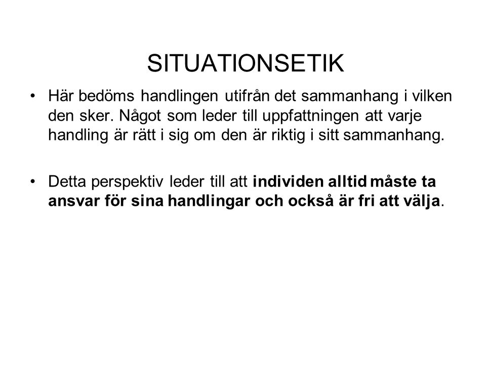 SITUATIONSETIK