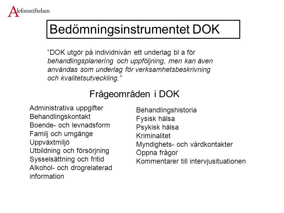 Bedömningsinstrumentet DOK