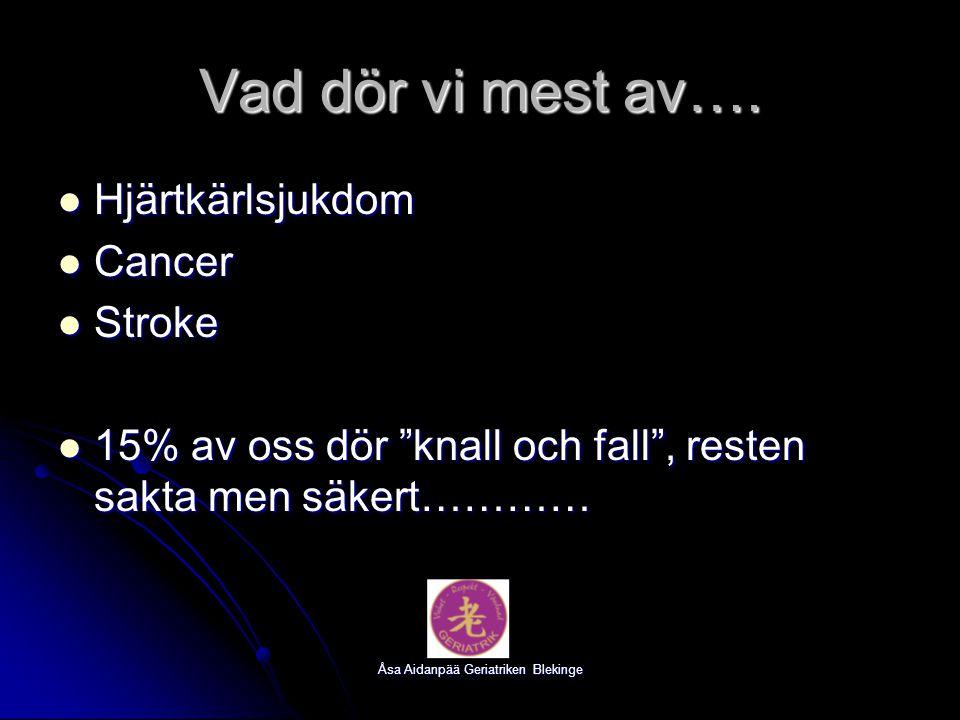 Åsa Aidanpää Geriatriken Blekinge