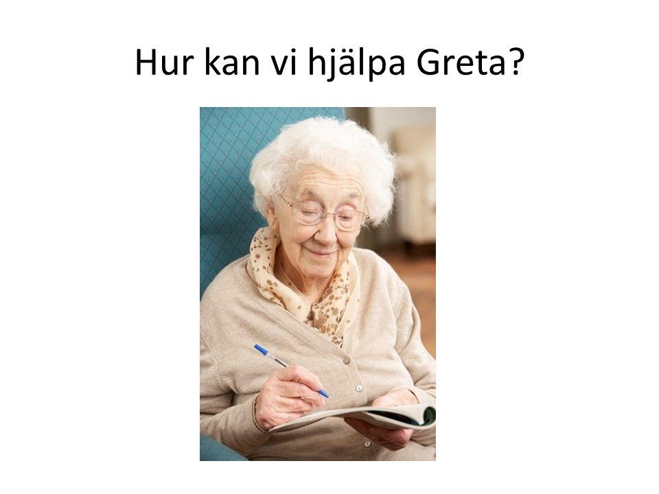 Hur kan vi hjälpa Greta