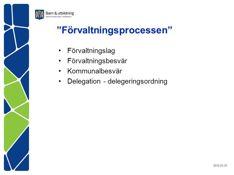 Förvaltningsprocessen