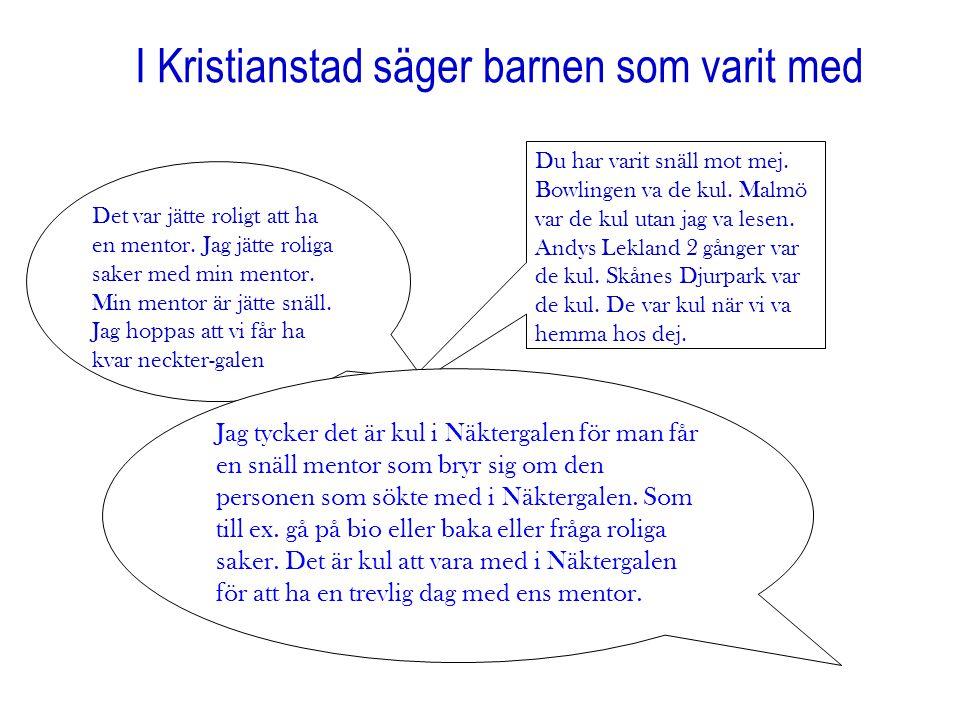 I Kristianstad säger barnen som varit med