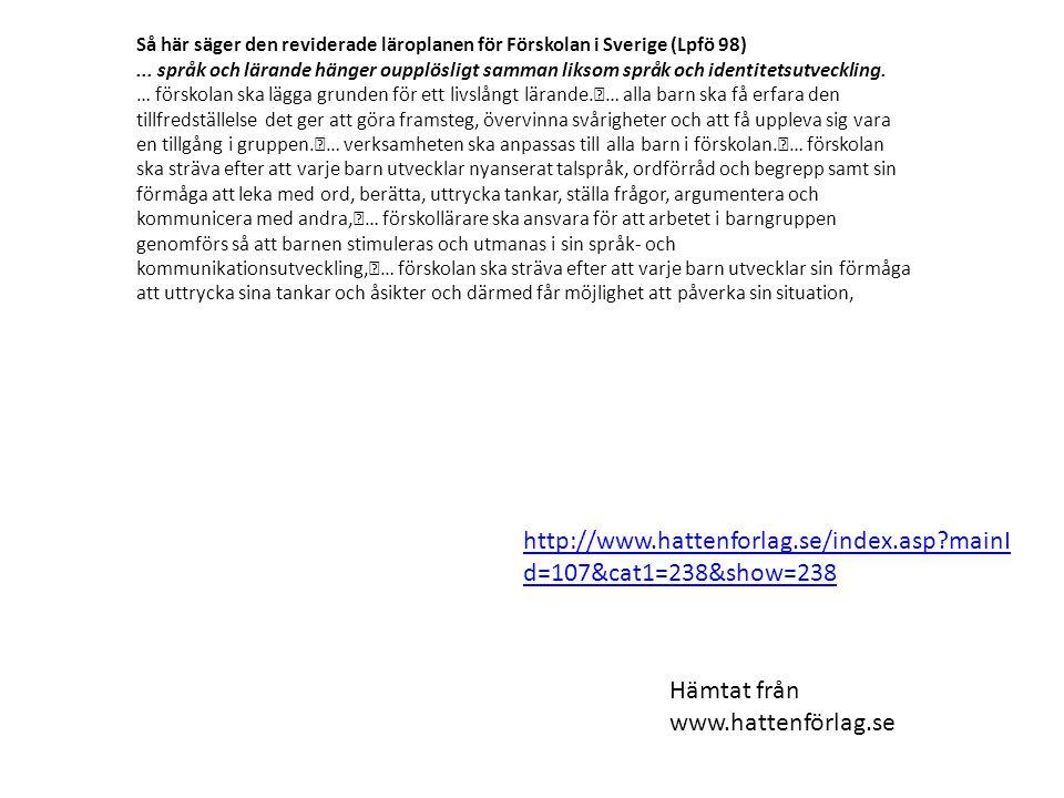 Hämtat från www.hattenförlag.se