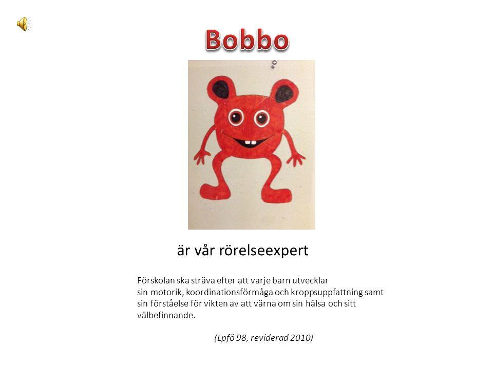 Bobbo är vår rörelseexpert