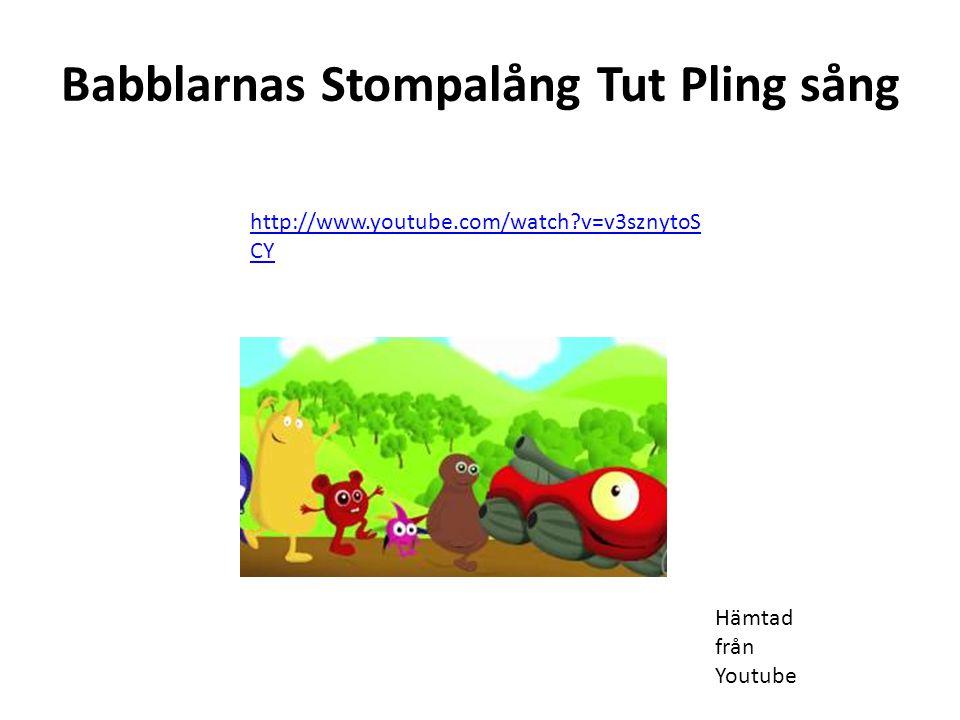 Babblarnas Stompalång Tut Pling sång