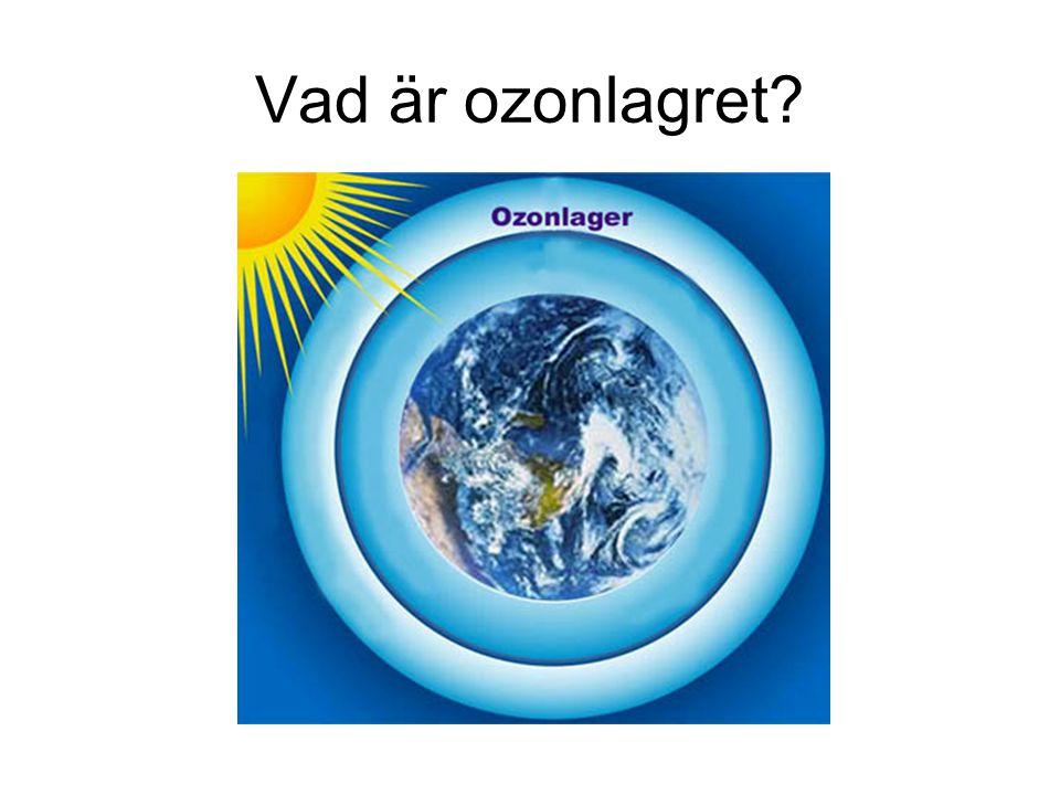 Vad är ozonlagret