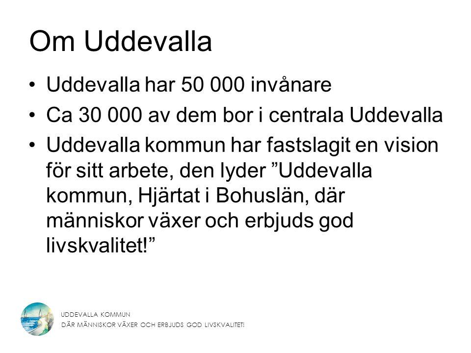 Om Uddevalla Uddevalla har 50 000 invånare