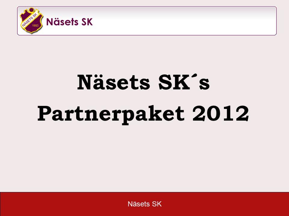 Näsets SK´s Partnerpaket 2012
