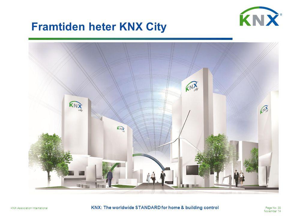 Framtiden heter KNX City