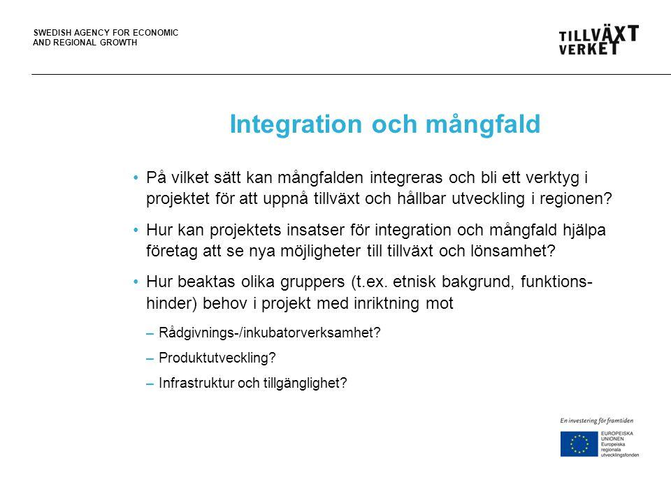 Integration och mångfald