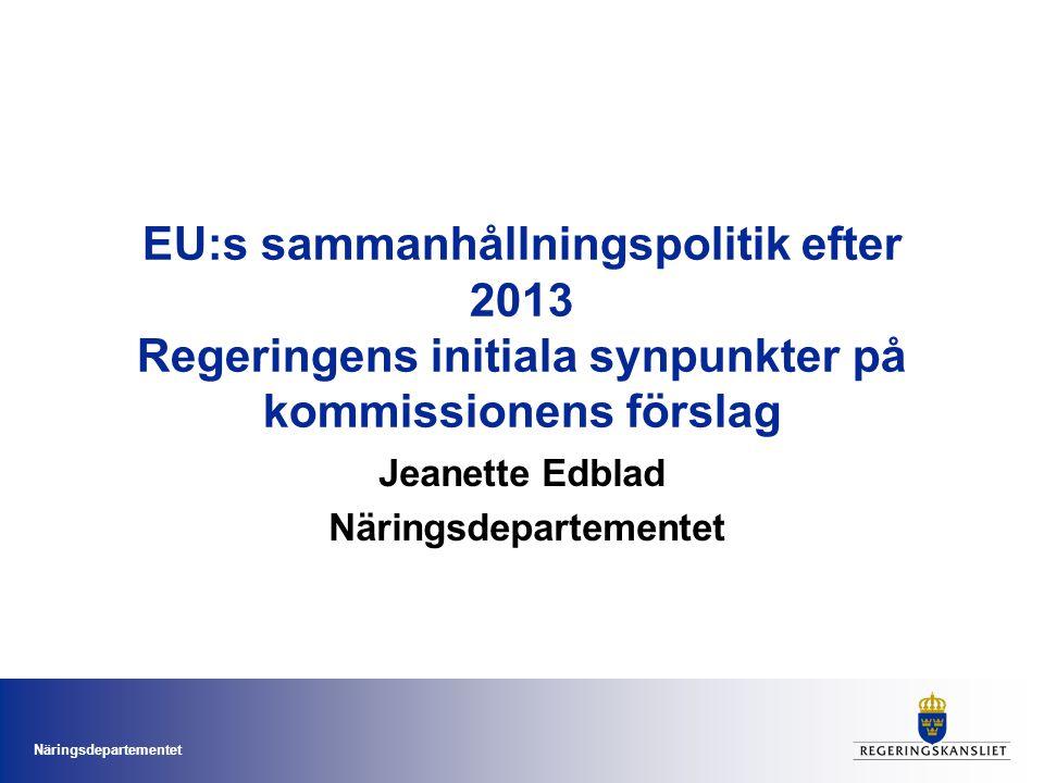 Jeanette Edblad Näringsdepartementet