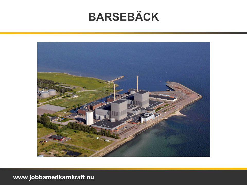 BARSEBÄCK Barsebäck Kraft AB Ägare: Barsebäck är ett helägt dotterbolag till Ringhals AB. Elproduktion per år: