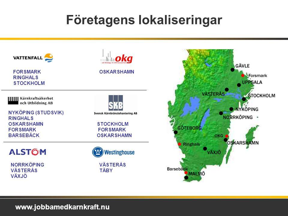 Företagens lokaliseringar