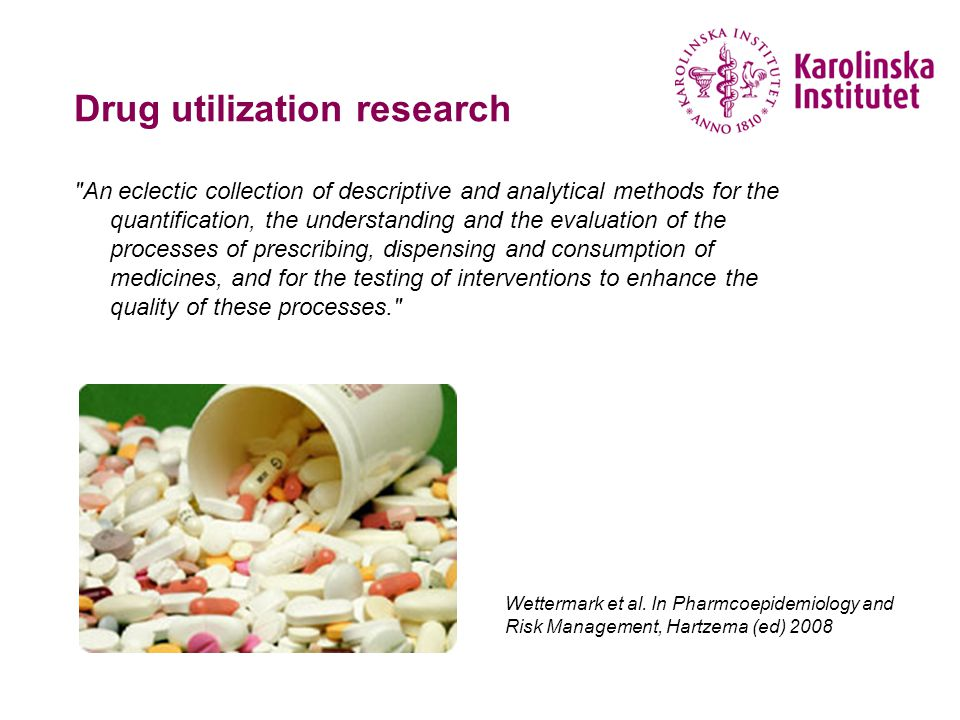 Drug utilization research