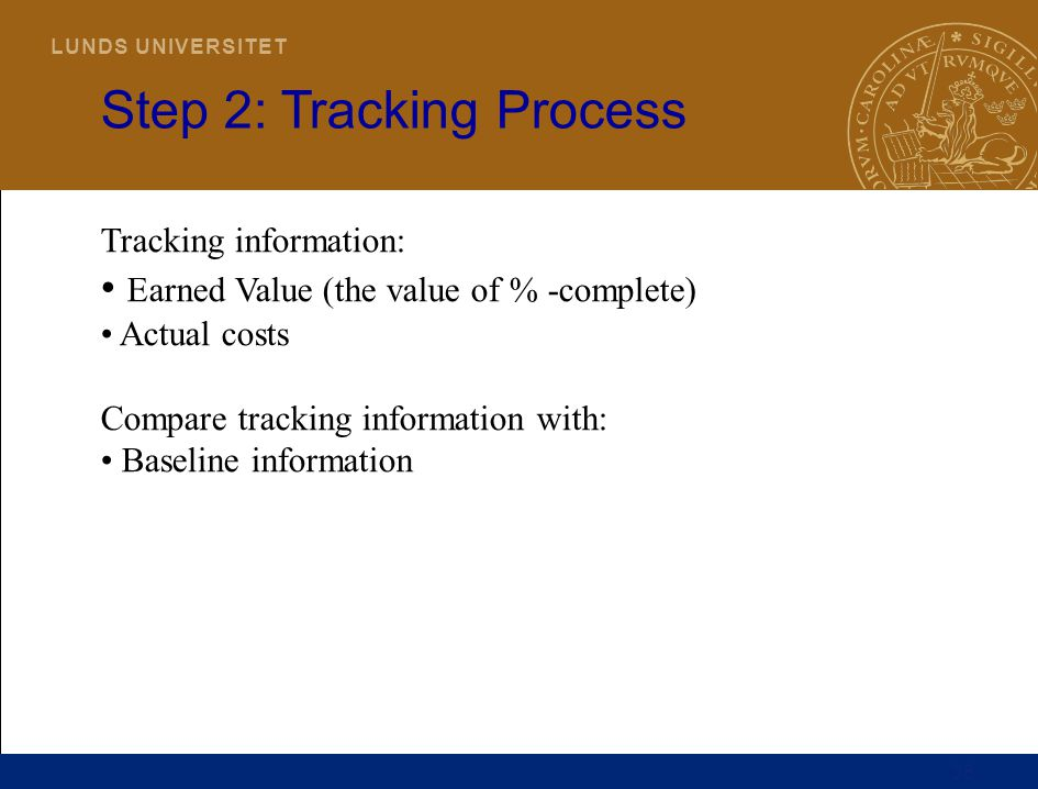 Step 2: Tracking Process