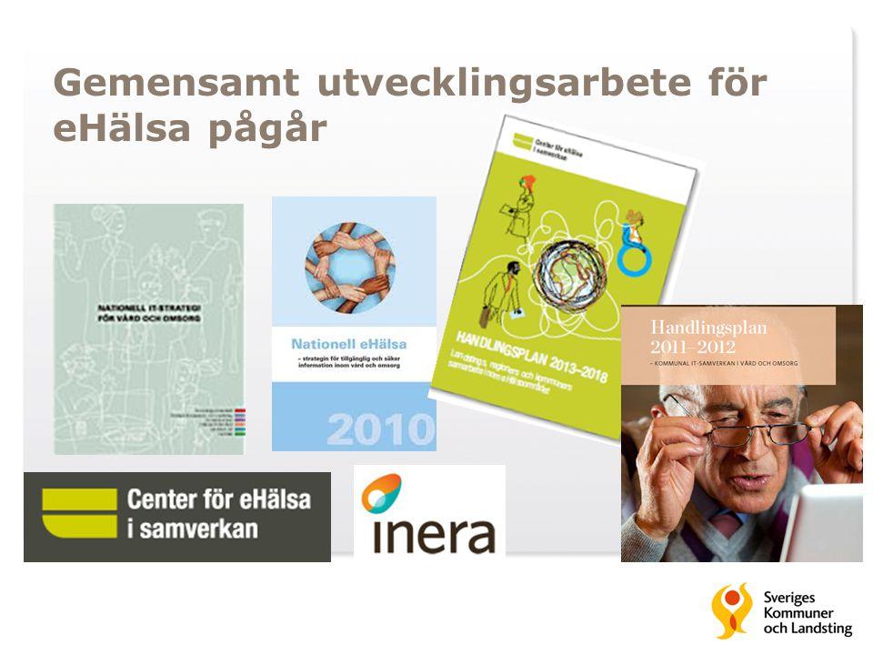 Gemensamt utvecklingsarbete för eHälsa pågår