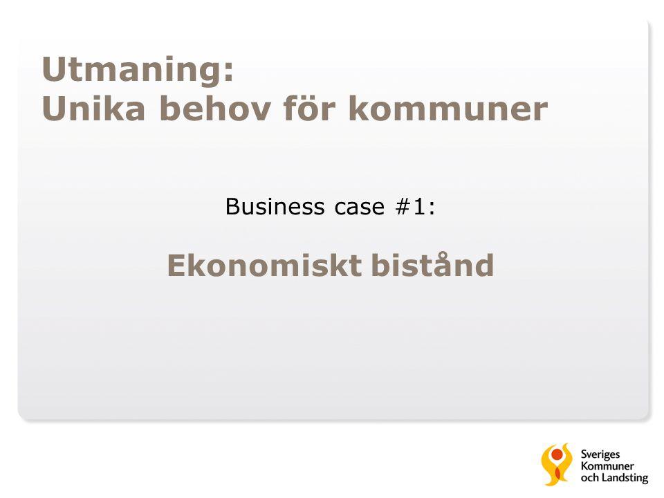 Business case #1: Ekonomiskt bistånd