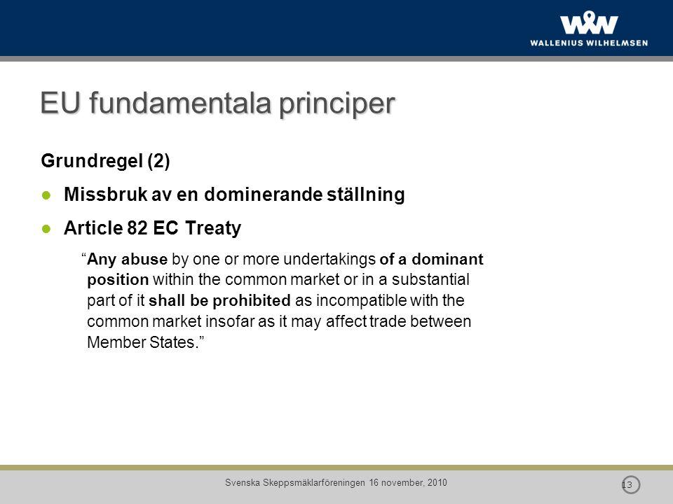 EU fundamentala principer
