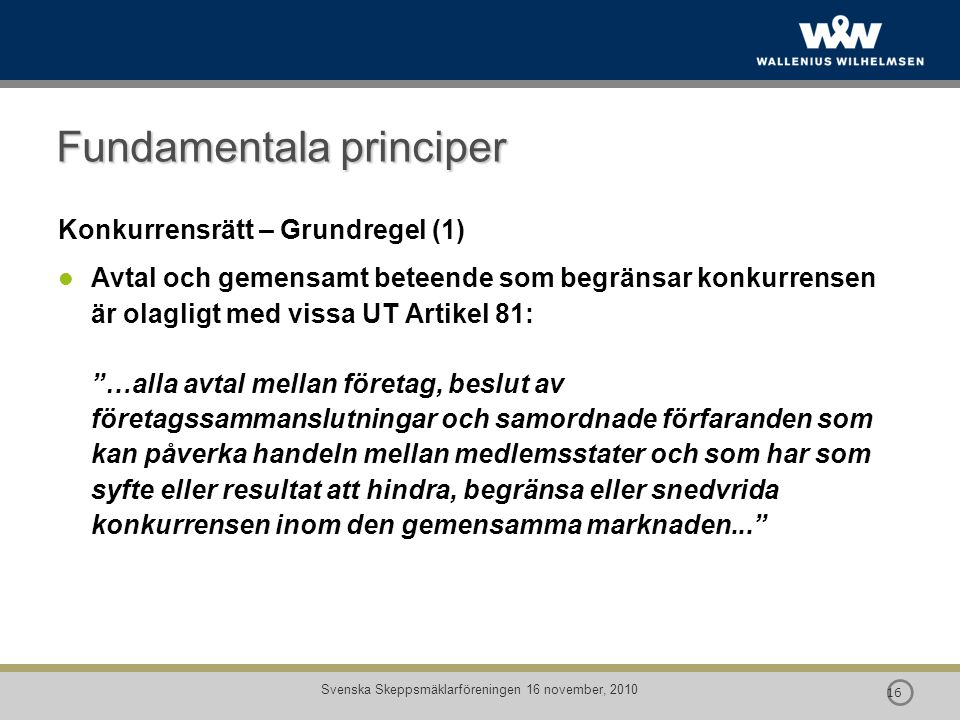 Fundamentala principer