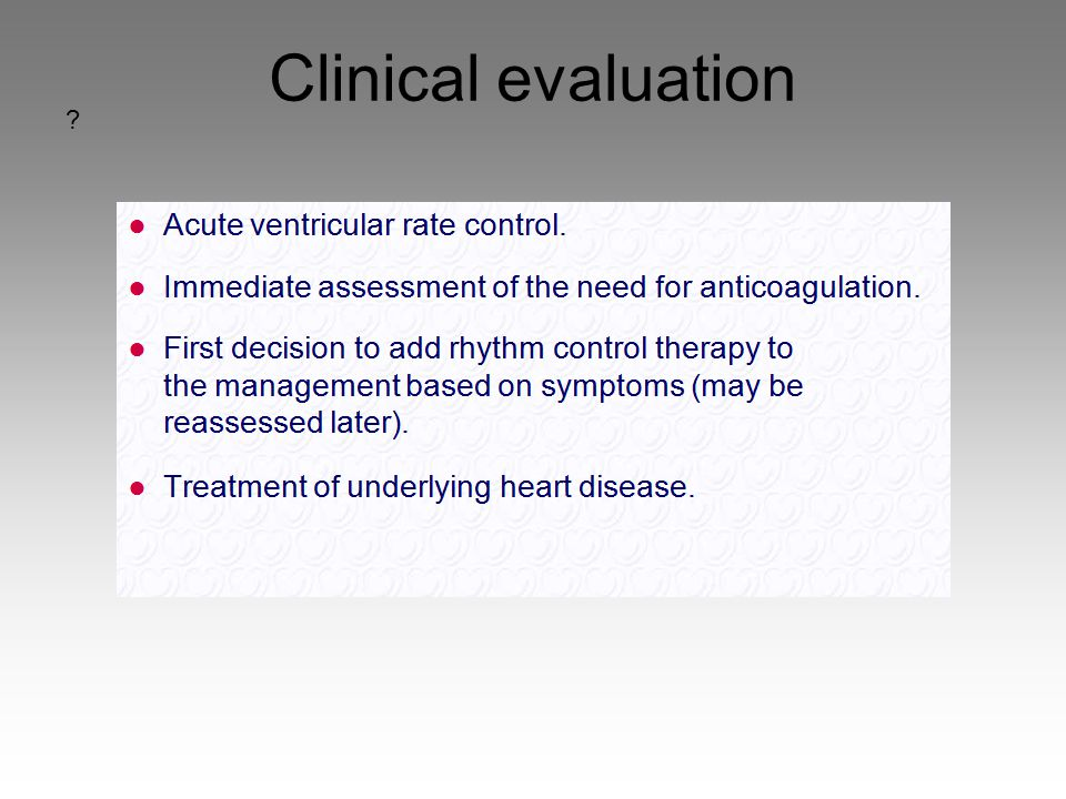 Clinical evaluation 42 42