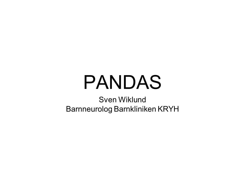 Barnneurolog Barnkliniken KRYH